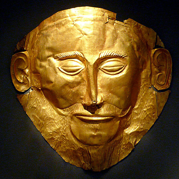 Mycenaean Greece Mask of Agamemnon