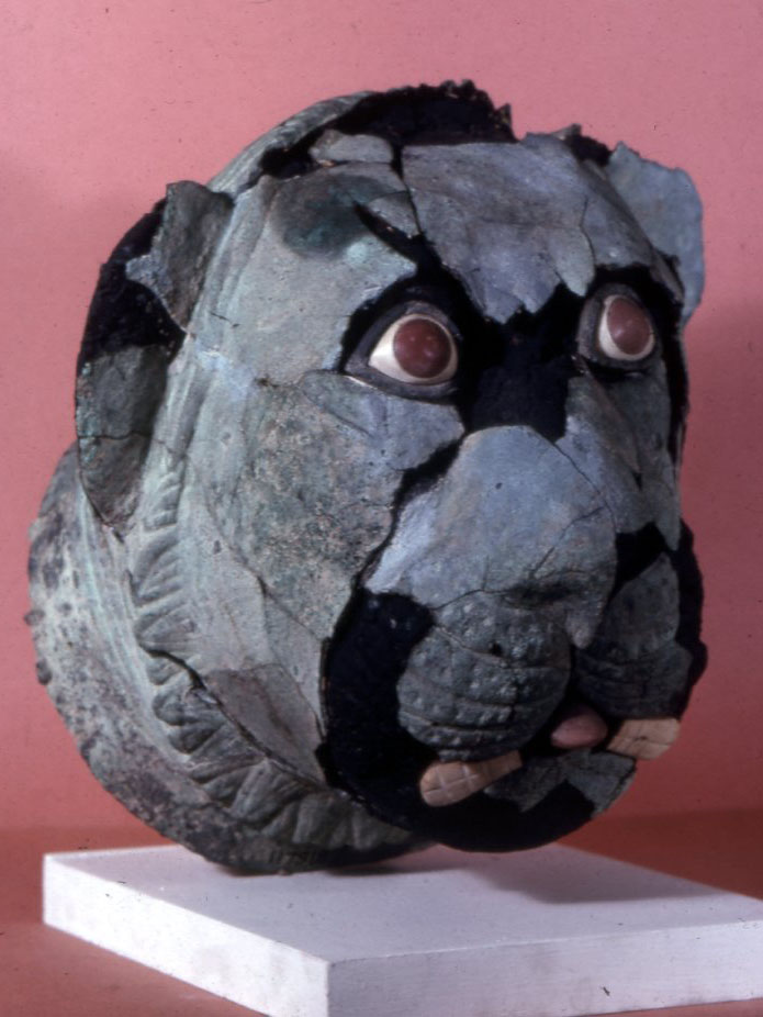 Sumer Animal (lion) Head