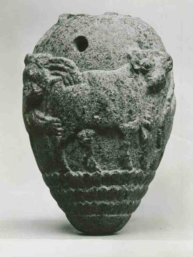 Uruk period Carved Jar