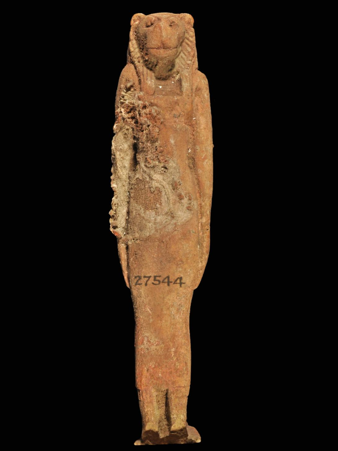 26th Dynasty of Egypt Lion Human Figurine