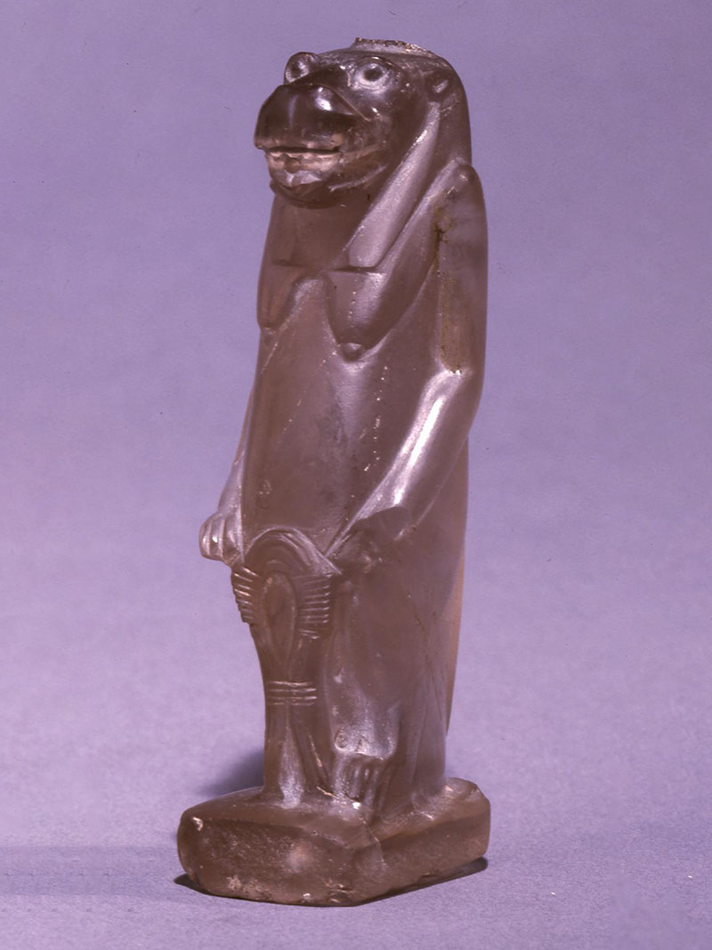 18th Dynasty of Egypt Crystal Hippopotamus figure of Taweret